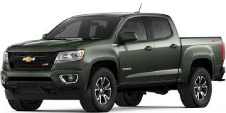 100 Green Truck 2018 Colorado MidSize Chevrolet