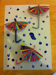 Weather Arts And Crafts For Preschoolers Easy Art Activity Reception Child On