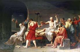 The Death Of Socrates Oil On Canvas By Jacques Louis David 1787
