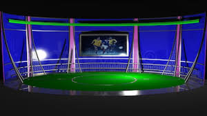 Virtual Tv Sports News Set 1