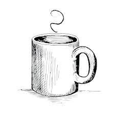 Cool Coffee Cup Drawing Interesting Free Vector In Adobe
