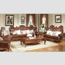 Beautiful Wooden Sofa Designs For Drawing Room Images