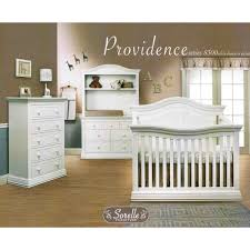 Sorelle Dresser French White by Sorelle Providence 4 In 1 Convertible Crib In White Free Shipping