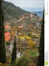 100 Kalavrita Scenic View To Small Village In Mountains Near Greece