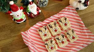 Rice Krispie Christmas Tree Treat Recipe by Reindeer Rice Krispie Treats 12 Days Of Xmas Baking