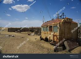 Old Broken Truck Desert Turkmenistan Central Stock Photo (Edit Now ...
