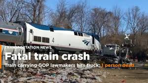 Train Carrying GOP Lawmakers Hits Truck; 1 Person Reported Dead [Video] Amtrak Train Hits Dump Truck In Edgebrook Abc7chicagocom Train Carrying Us Republican Lawmakers One Death Reported Two Dead 18 Hurt After Stuck On Tracks Italy Stolen Unoccupied Pickup Northeast Bellevue No White House 1 Hit By Congress Members Stow Fox8com Carrying Gop Lawmakers Hits Truck One Dead Ho Stop Motion Film Youtube Stalled Semi Sebree As Csx Works At Multiple Crossings Republicans To Retreat In West Virginia Garbage New Jersey Transit Little Of