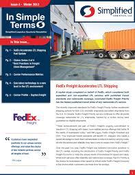 100 Fedex Freight Trucking Boards FedEx Accelerates LTL Shipping PDF