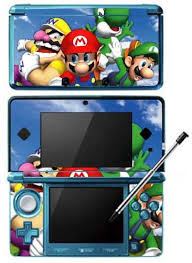 super mario 64 ds game skin for nintendo 3ds console 2015 amazon