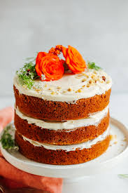 1 bowl vegan gluten free carrot cake
