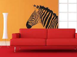 wandtattoo zebra kopf wandtattoo de