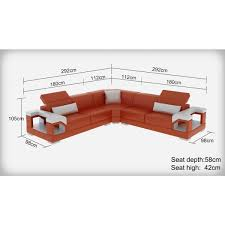 grand canapé d angle en cuir nimes 5 places têtières inclinables