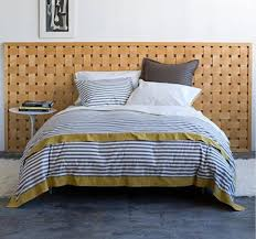 Similar Striped Bedding Dwell Studio vs West Elm