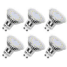 le led gu10 50w 3w gu10 led daylight bulb 50w halogen bulb equivalent pack of 6