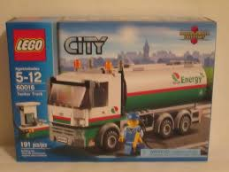 100 Lego Tanker Truck City Set 60016 BRAND NEW FACTORY SEALED