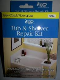 tub and shower surface repair kit white