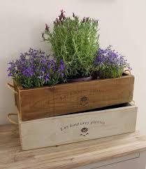 Vintage Style Trough Planter Rustic Window Box