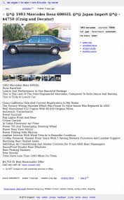 Would You Pay $4,750 For This 1993 Mercedes Benz 600SEL? Project Car Hell 10 Painful Choices Edition Go For Buttonwillow Craigslist Cars Under 600 Dollars Youtube La Used By Owner Image 2018 Coloraceituna Los Angeles Images Model T Ford Forum Scam Alert Kobe 6 All Star For Sale Craigslist Sneaker Outlet Pladelphia Sale By Truck Flashback F10039s New Arrivals Of Whole Trucksparts Trucks Home Flemings Ultimate Garage Classic Muscle Exotic Ilx Colorado Trip Day 2 Mount Evans Drtofive Enterprise Sales Certified Suvs 1000 Bonus 042mi Premium Transportation Logistics Cdl Drivers