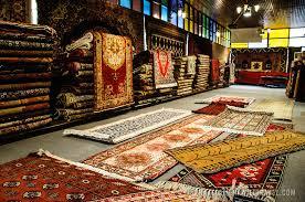 Interior Of A Turkish Carpet Shop At The Arastar Bazaar Small Next To