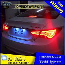 car styling l for hyundai sonata led light 2011 2014