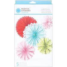 Martha Stewart Crafts Modern Festive Paper Flowers