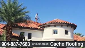 cache roofing waterproofing clay concrete tile solar panel