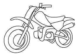 Dirt Bike Coloring Pages Fresh Line Drawing At Getdrawings Of