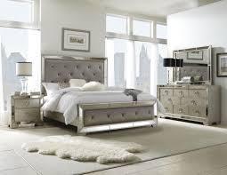 Macys Headboards And Frames by Pulaski Farrah 4 Piece Panel Bedroom Set In Metallic