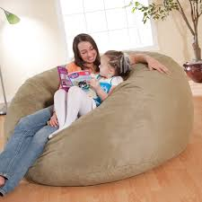 Fuf Bean Bag Chair By Comfort Research by Fuf 5 Ft Micro Suede King Bean Bag Sofa Hayneedle