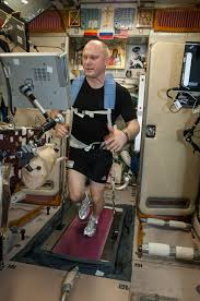 BD 2 Is The Treadmill That Found In Russian Segment Of Space Station It Allows Crew Members To Walk And Run With A Speed From 24 20 Km Hr