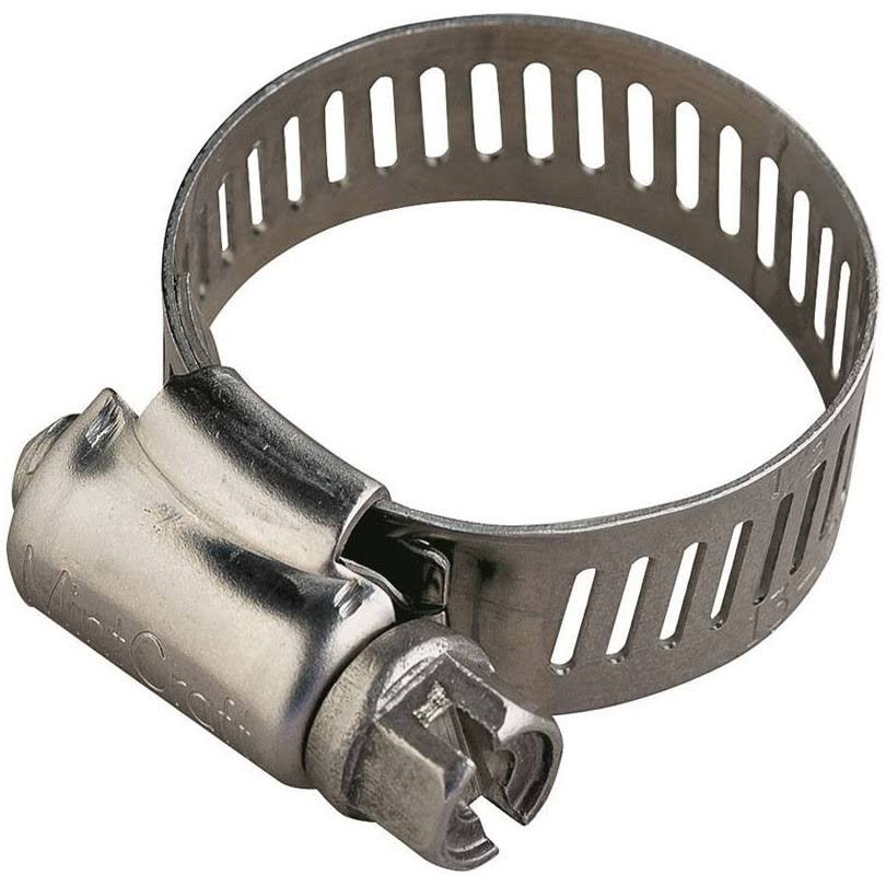 Mintcraft Hose Clamp With Screw - Stainless Steel