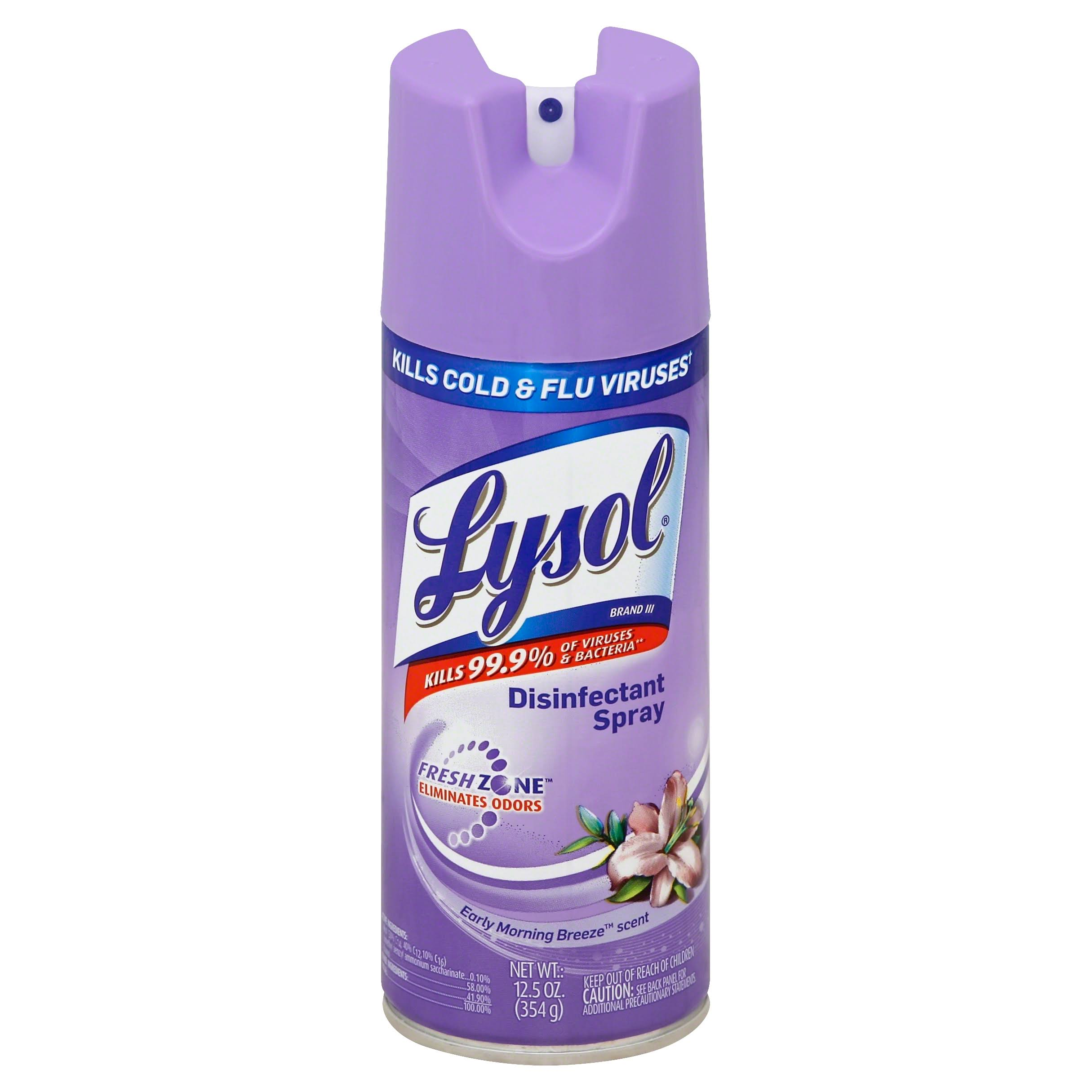 Lysol Disinfectant Spray - Early Morning Breeze Scent