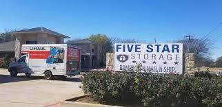 100 U Haul Truck Gas Calculator Self Storage Nits In Van Alstyne TX Five Star Storage