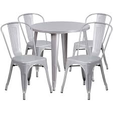 30RD Silver Metal Set CH-51090TH-4-18CAFE-SIL-GG ... China White Square Metal Wood Restaurant Table And Chair Set Sp Interior Design Chairs Painted Ding Modern Wooden Fniture 3d Model Sohocg Amazoncom Giantex 3 Pcs Bistro 2 Vintage Stock Photo Edit Now Alinum Outdoor Chair Stool Restaurant Bistro Fniture Cheap 35pc Sets Cafe Dporticus 5piece Industrial Style Shop Costway Kitchen Pub Home Verona 36 Inch