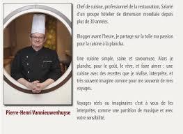 recette de cuisine professionnel recette plancha marinade crue ou cuite pour viande ou gibier