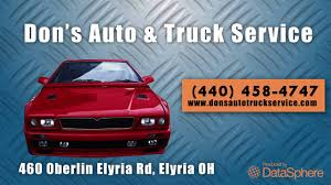 Don's Auto & Truck Service | Repair & Service In Elyria - YouTube Residential Glass Replacement Windows Bunker Dons Mobile Auto Body Paint Shop Ltd Opening Hours 27441 Fraser Hwy Sales Home Towing Transport Tow Truck Roadside Donalds Quality Automotive Service Visit The Store In Merced Youtube Our Work Trim Indianapolis
