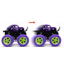 100 Kids Monster Trucks Non Slip Anti Shock Toys Friction Powered Outdoor Durable Inertia Truck