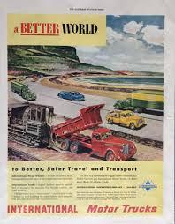 100 International Trucks Chicago Amazoncom 1948 Print Ad Size 105 X 135