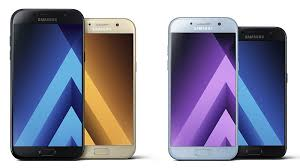 Samsung Galaxy A3 Galaxy A5 Galaxy A7 2017 Smartphones
