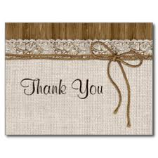 Rustic Wedding Thank You Cards And Invitations Popular Chalkboard Photo Postcard Traditional Card Simple