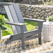 Living Accents Folding Adirondack Chair by Belham Living Seacrest Cottage All Weather Resin Adirondack Chair