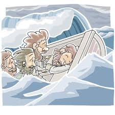 Jesus Calms A Storm Bible Story Boat Craft Coloring Pages