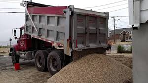 100 What Is A Tandem Truck 20 Tons Of Stone Delivered By Dump Truck YouTube