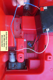 100 Kid Trax Fire Truck Parts SOLVED Cooper S 12V Now Blows Fuses ModifiedPowerWheelscom