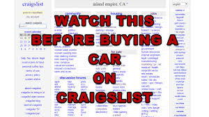 Buying A Car On Craigslist - Watch This First - YouTube Sacramento Craigslist Cars And Trucks By Owner Unifeedclub Honda Ridgeline For Sale In Ca 94203 Autotrader Lodi Park And Sell Boats Rvs By Big Valley Ford Lincoln Dealership Sckton For Dc Best Car Reviews 1920 Atlanta 1980 Tacoma Replicaswho Would Buy One Page 4 World How To Post On 2018 Youtube Ss Auto Sales 845 New Used Fresno Update 20