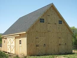 Free Barn Plans Professional Blueprints For Horse Barns & Sheds