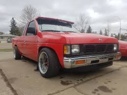 Zachary Billetski's 1991 Nissan Truck On Wheelwell