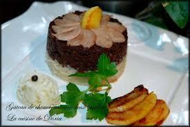quel dessert avec une choucroute gâteau de choucroute aux deux boudins la cuisine de doria