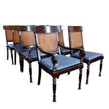 Baker Dining Chairs Milling Road For Furniture Late Century Regency Style Tahoe