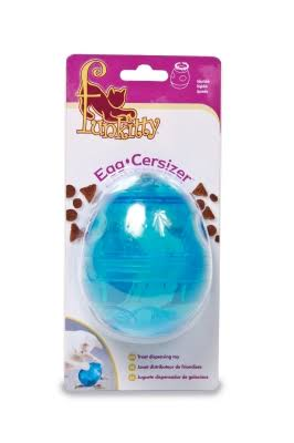 PetSafe Egg-cersizer Kibble and Treat Dispensing Cat Toy